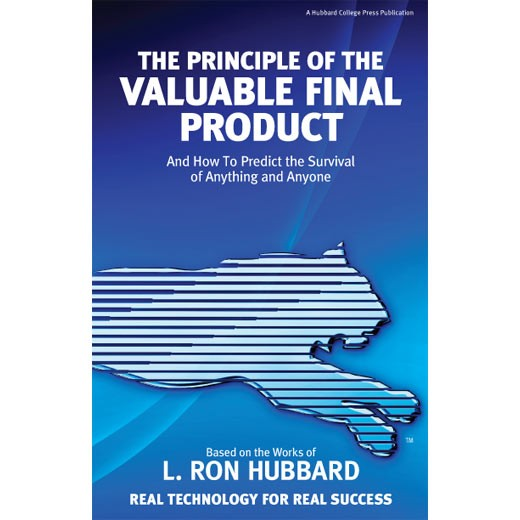 The Principle of the Valuable Final Product