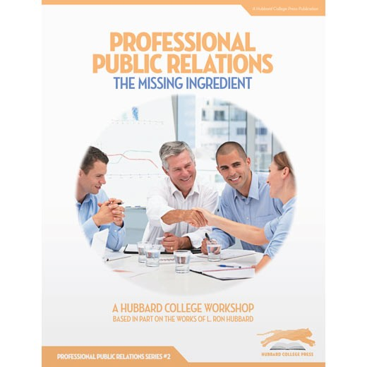 Professional Public Relations: The Missing Ingredient